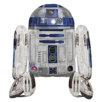 Anagram International Star Wars R2D2 Air Walker, Multi-Color: Home & Kitchen