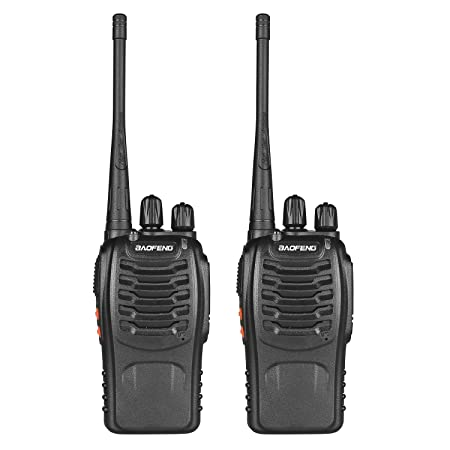 BaoFeng Premium 888s Walkie Talkie for Kids - Set of 2 Walkie Talkies at amazon