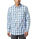 Columbia Women's Silver Ridge Lite Plaid Long Sleeve Shirt, UV Sun Protection, Moisture Wicking Fabric