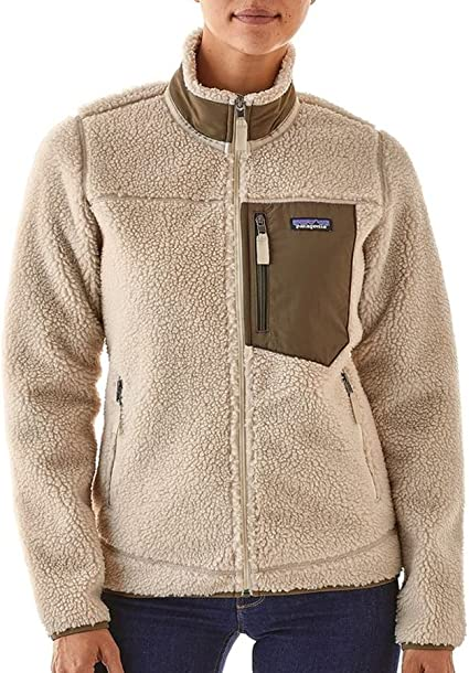 Patagonia Women's Classic Retro X Fleece Jacket (M, Natural