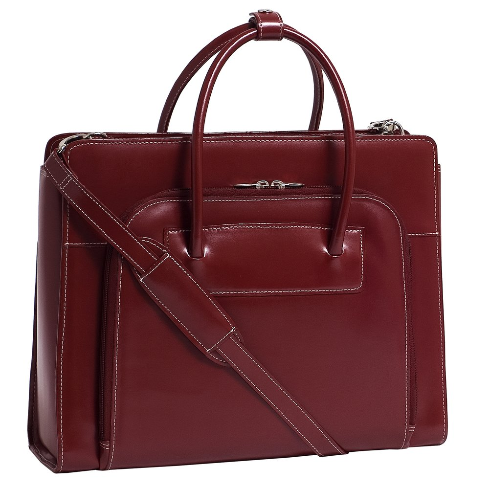 McKleinUSA 94336レイクフォレストLadies ' Briefcase with Removable Sleeve – レッド   B0066NYVQ4