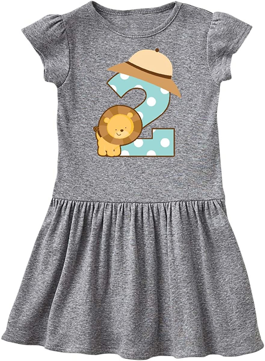 inktastic Second Birthday Mermaid with Fish and Crab Toddler T-Shirt
