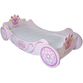 info for fe7b8 b55ba Bebe Style Premium Wooden Royal Princess Carriage Toddler Bed Easy Assembly  Pink