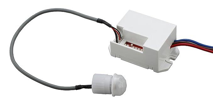 Vt 5082 sensore di movimento ir crepuscolare ip20 per lampade