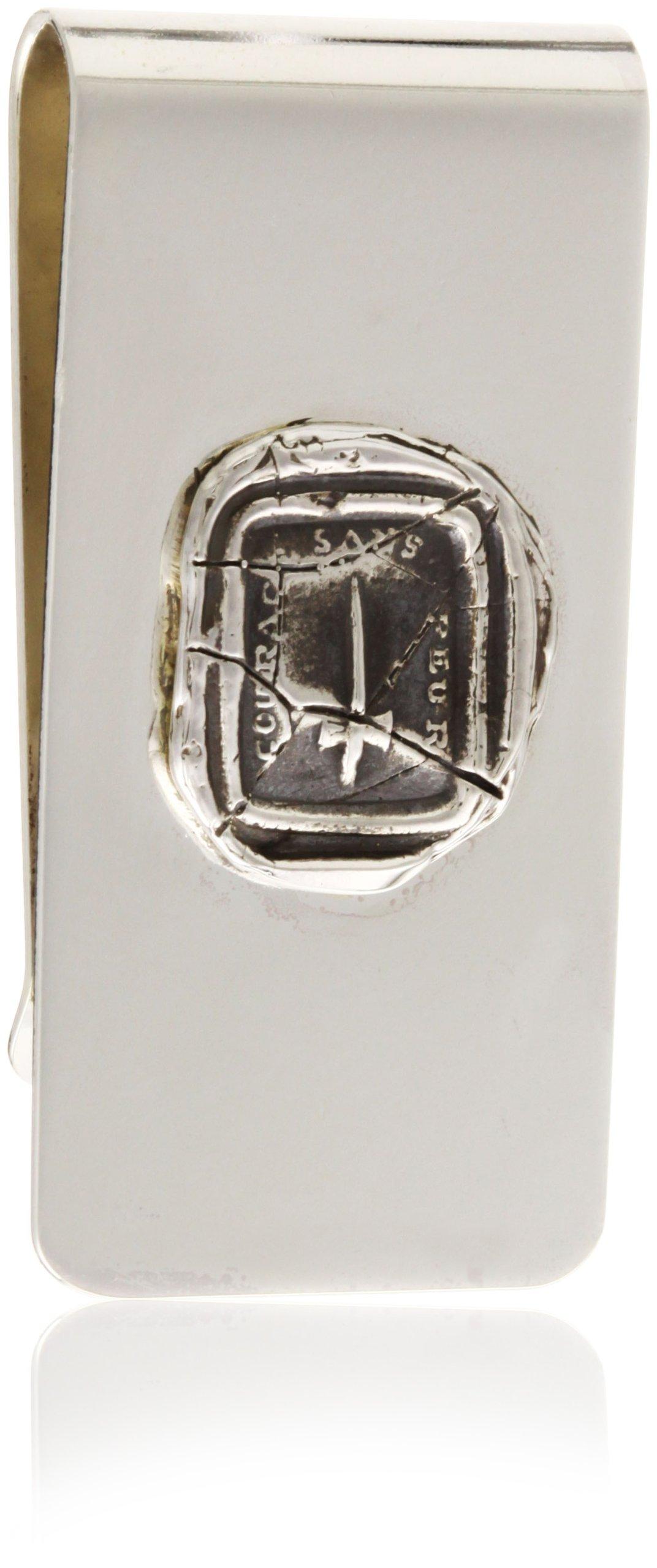 Pyrrha ''talisman'' Men's Sterling Silver Dagger Money Clip