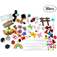 ZJW Fairy Garden Miniatures Accesorios Adornos Kit