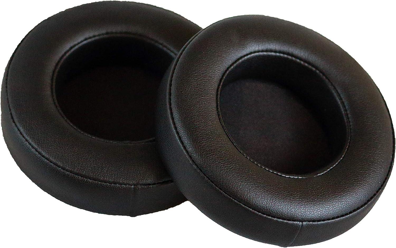 Replacement Ear Pads Compatible with Razer Kraken 7.1 V2 Headphones (Black, Round Version) (Black)