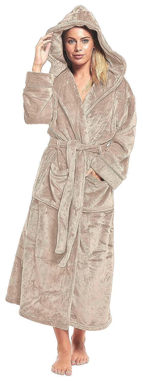 Ladies Polar Fleece Zip Front Dressing Gown Sizes 10 24 Snowas Uk