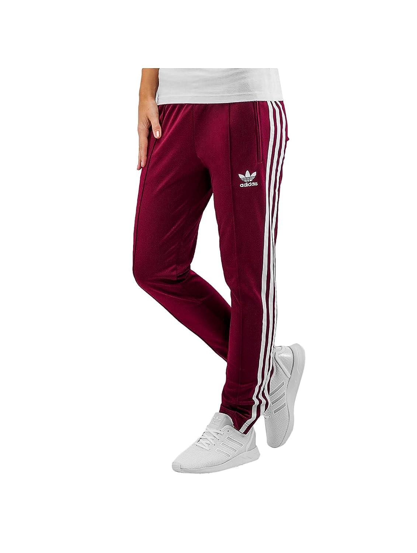 adidas Pantalon Superstar Bordeaux Femme  Amazon.fr  Vêtements et  accessoires 3cd1a34af40