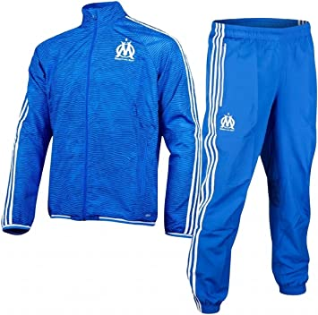 ADIDAS OM EU SURVETEMENT BLEU