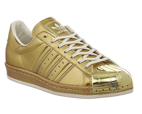 Adidas Metallic off Superstar 80s Gold Pack Gold Metallic Metallic rr0waq6