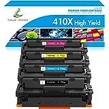 True Image Compatible Toner Cartridge Replacement for HP 410X 410A M477fnw HP Color Laserjet Pro MFP M477fdw M477fdn…