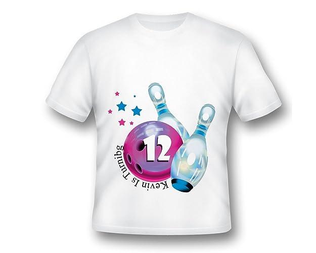 ccbdc0ff4 Amazon.com: Personalized Bowling Shirt, Birthday Bowling shirt, boys Bowling  shirt, Bowling T-shirt, Bowling Birthday: Handmade