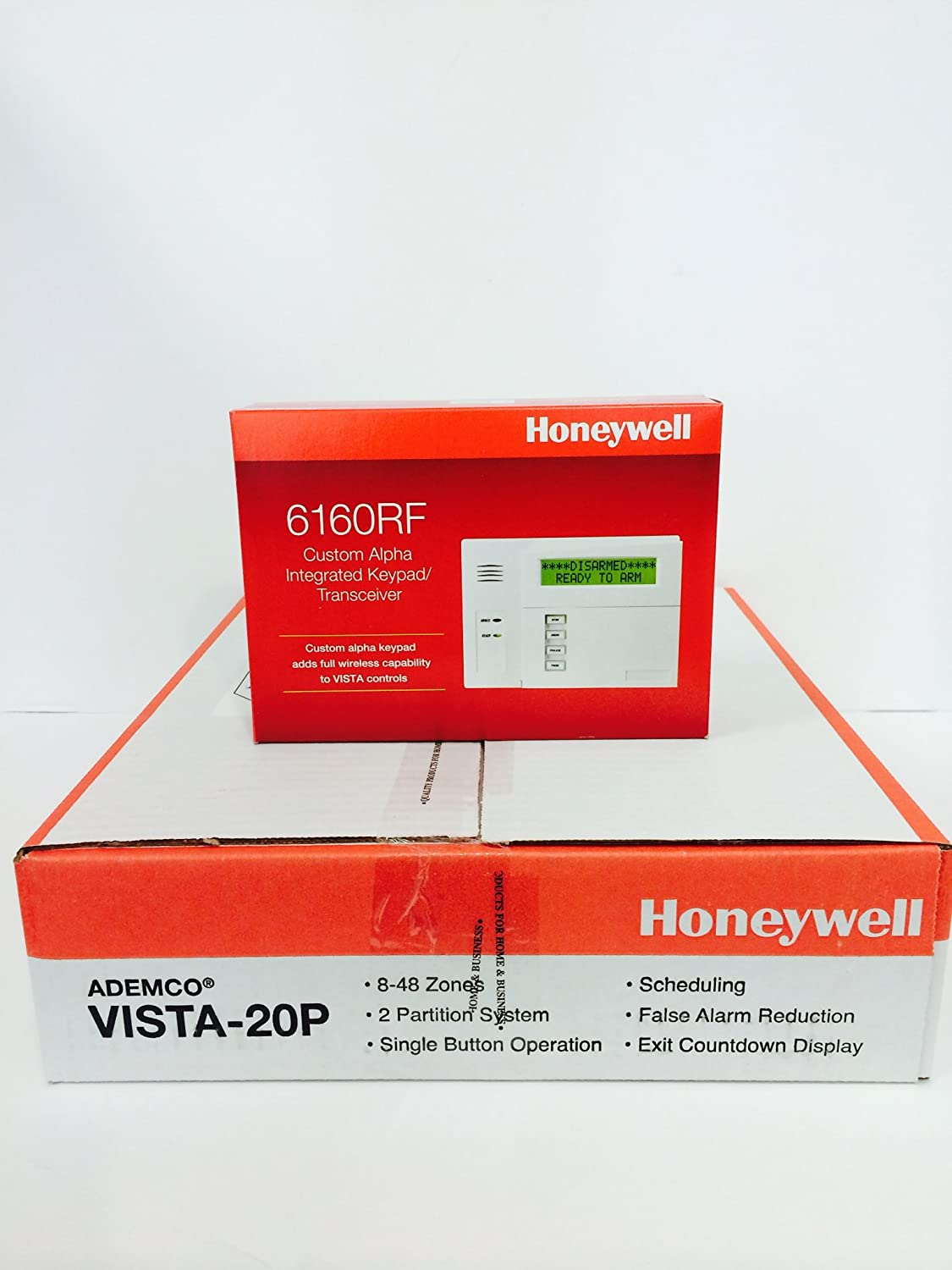 Honeywell Vista 20P and 6160RF Keypad Kit Package