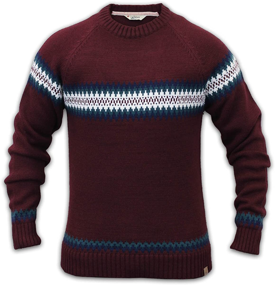 Tokyo Laundry Mens Stylish Wool Mix Knitted Jumpers 1A3054