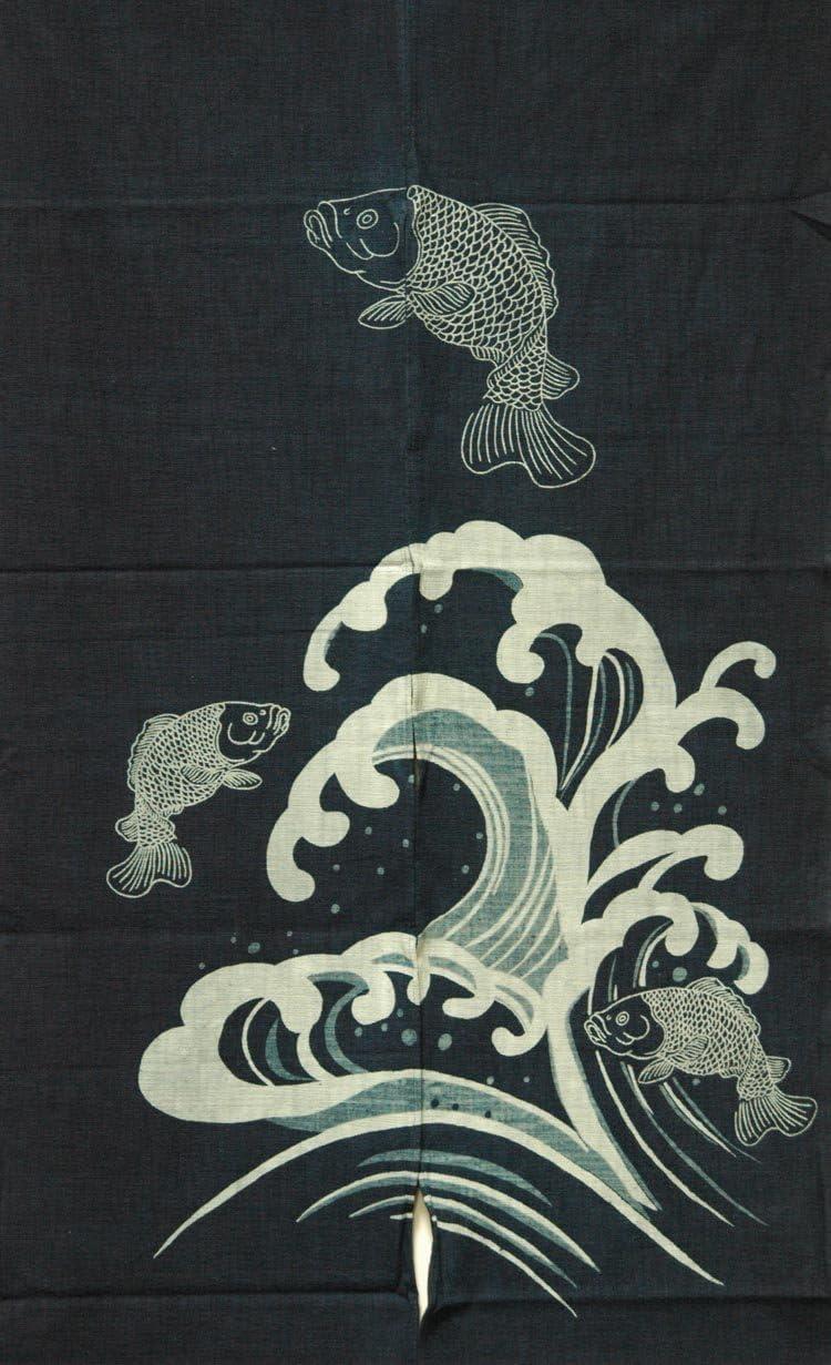 EASTERN CLASSICS Japanese Noren, WE05149, Cotton Door Way Curtain