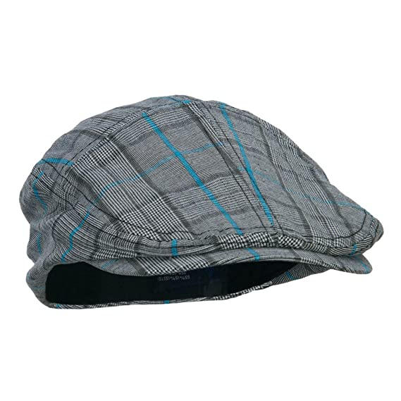 Fashion Plaid Ivy Cap - Brown 9dcce823c4a0