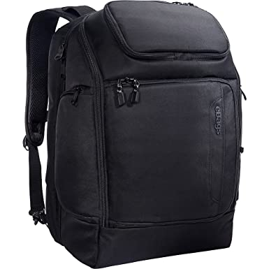 0514cf0dfdeb eBags Professional Flight Laptop Backpack - Best Computer Bag for Travel -  Fits up to 15.6 Inch Laptop - (Black)