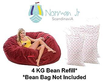 Excellent Buy Norman Jr Bean Bag Refill Filler 4 Kg White Online At Unemploymentrelief Wooden Chair Designs For Living Room Unemploymentrelieforg