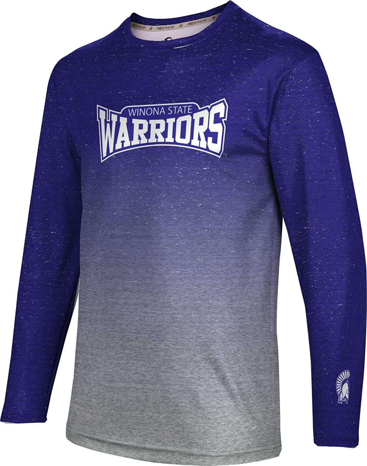 Gradient ProSphere Winona State University Mens Long Sleeve Tee