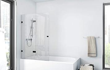 Marwell BWF211 Gallery - Pared plegable para bañera, color negro ...