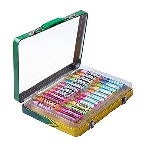 Lip Smacker Crayola Lip Balm Vault, 24 count