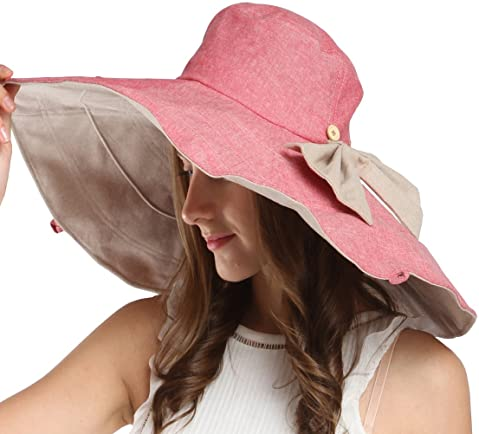 e7db0c2479a Maitose™ Women s UV Sun Protection Beach Wide Brim Fishing Hat