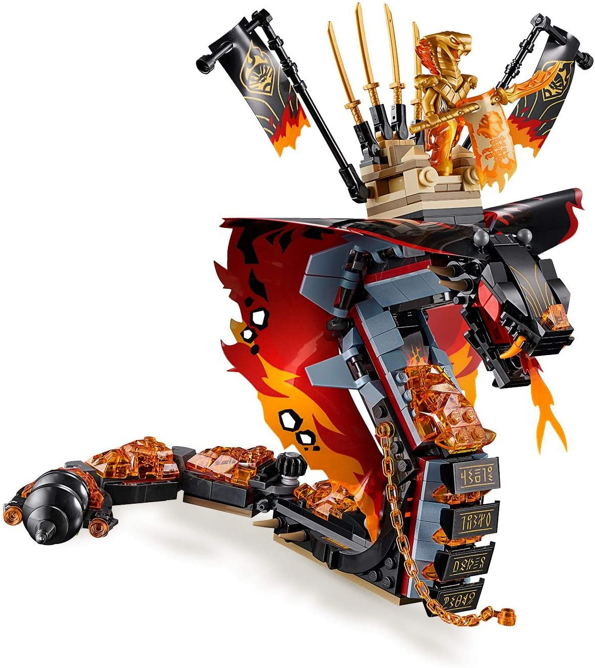 """Lego Ninjago /""""Aspheera/"""" Minifigur Die Schlangenmagierin Schlange Pyro Vipern Neu"""