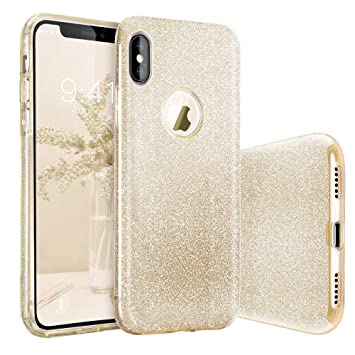 custodia iphone x oro