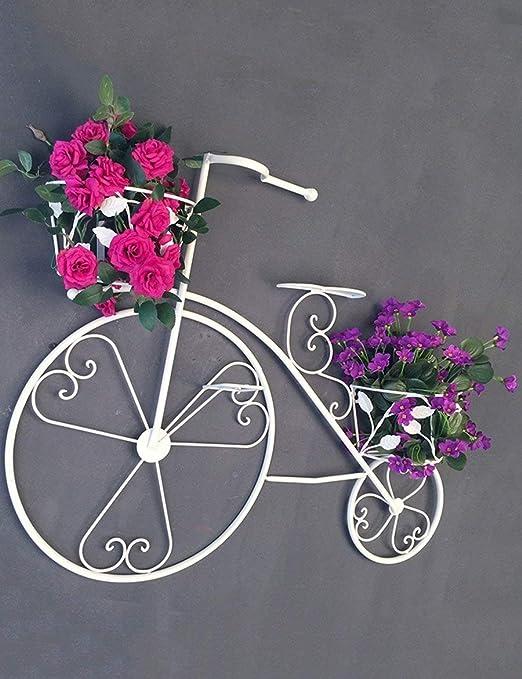 MWPO Estante de Flores rápido Hierro Vintage Bicicleta Decorativa ...