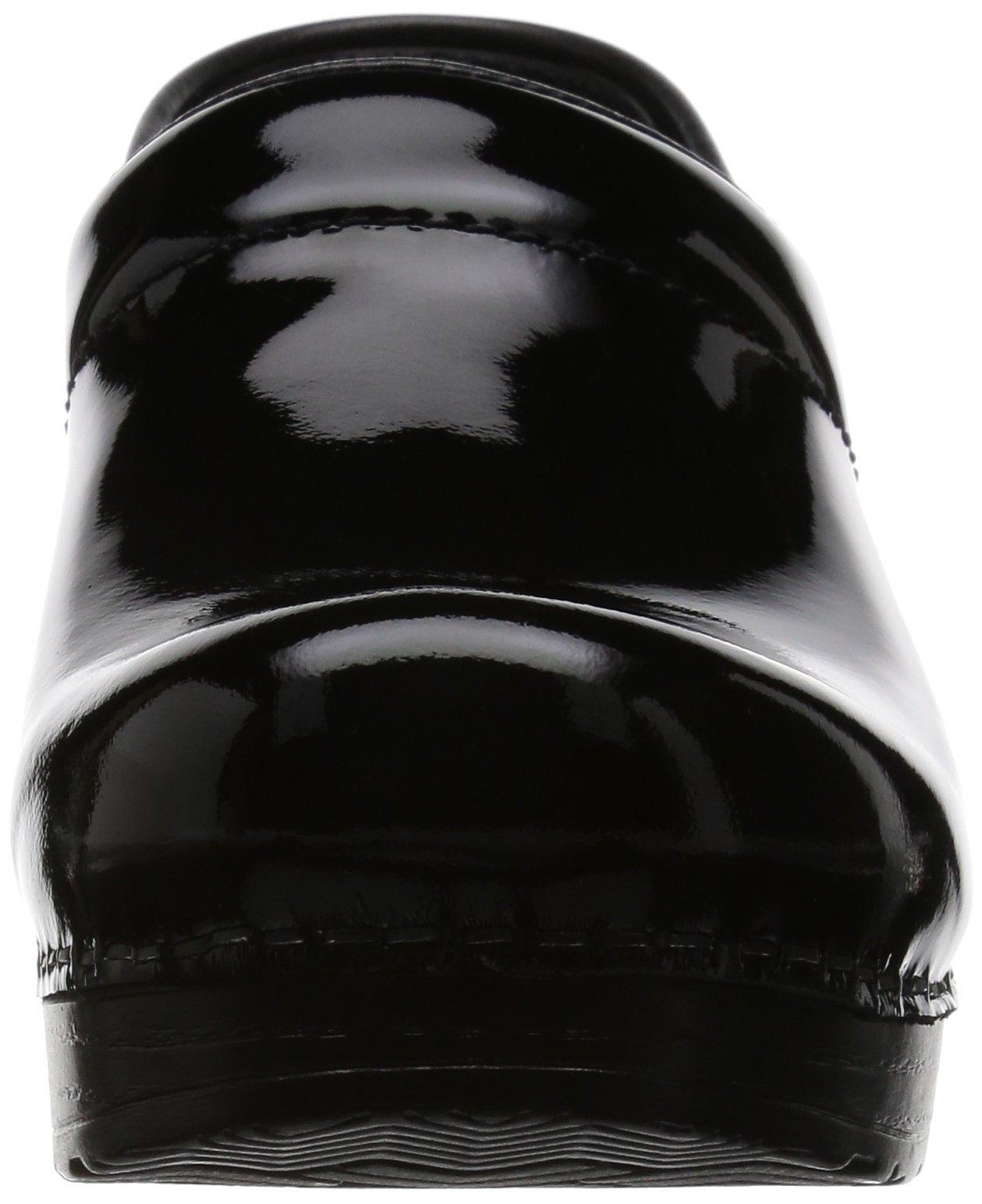 Dansko Women's Professional Patent Leather Clog,Black Patent,37 EU / 6.5-7 B(M) US by Dansko (Image #4)