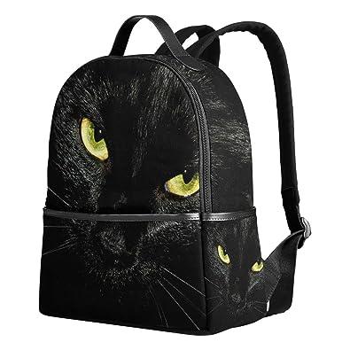 c6cf9e8dbc26 Amazon | USAKI(ユサキ)面白い リアル 黒猫 キャット かわいい 猫柄 ...