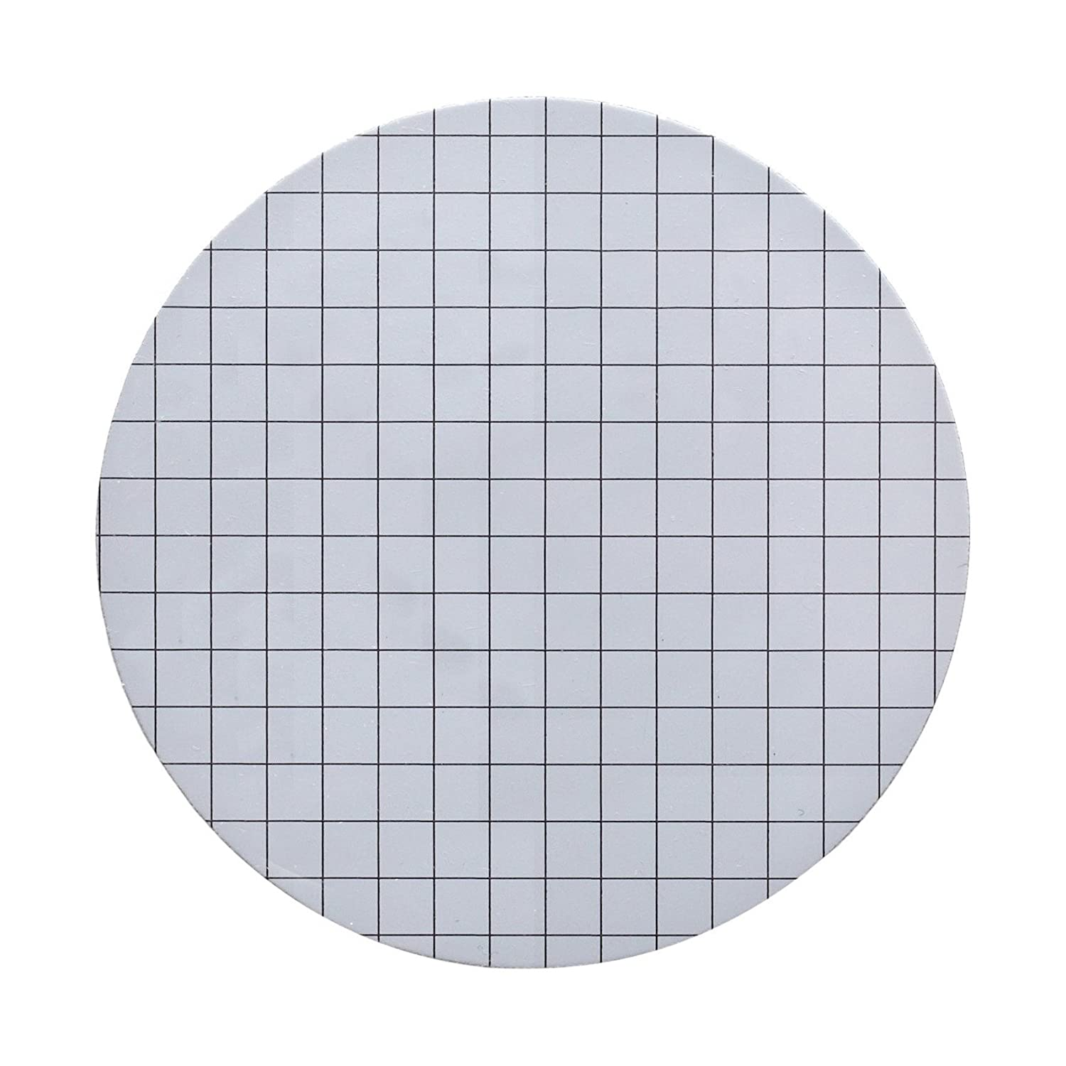 Whatman 7148-002 White Mixed Ester Gridded Membrane Filters, 25mm Diameter, 0.8 Micron (Pack of 100) WHA-7148-002