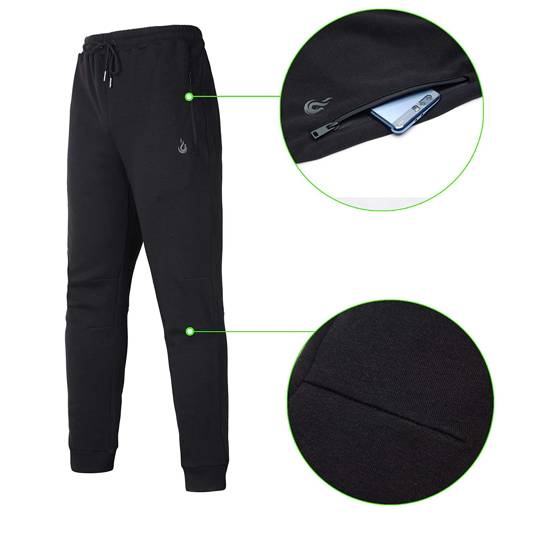 : beroy pantalones de jogger para hombre