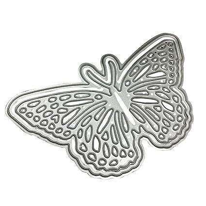 Luwu-Store Mariposa molde de corte de corte muere Plantillas para DIY Scrapbooking álbum