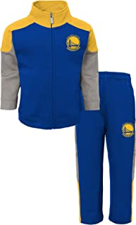 NBA Golden State Warriors-Sweater and Jog Pants Set, Ensemble De Pyjama Garçon