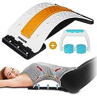 SGODDE - Dispositivo de apoyo lumbar, masajeador de espalda para corrección de postura, dispositivo de estiramiento de…