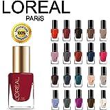 L'Oreal Paris Extraordinaire Gel-Lacque 1-2-3 Nail Color Set 10-Piece Collection Random