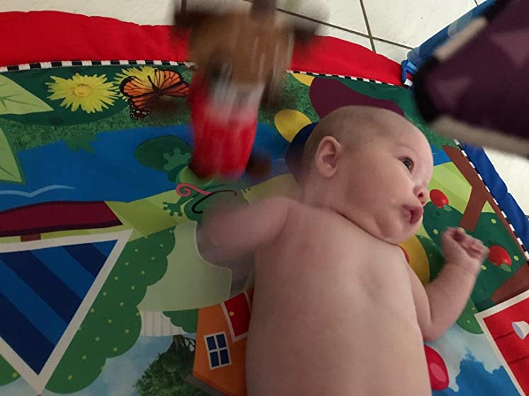 Baby Einstein Caterpillar & Friends Play Gym with Lights andMelodies, Ages Newborn + Thought she'd love the star but....
