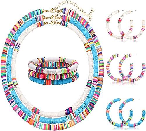 colorful african vinyl set