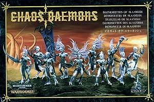 Games Workshop Warhammer 40k Chaos Daemons - Daemonettes of Slaanesh