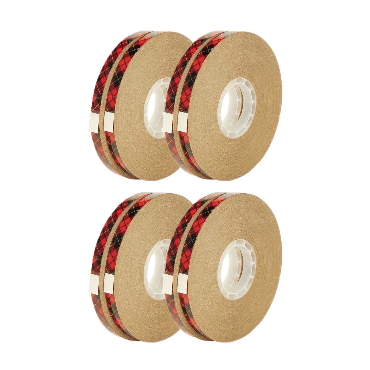 3M Scotch 085-R ATG Tape Glider Refill Rolls with Retractable Pen, 1/4-Inch x 36-Yard, Pack of 4(2-Rolls/Box)