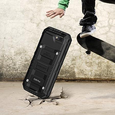 seacosmo Impermeable Funda para iPhone 7 Plus/8 Plus, [Rugged Armour] Carcasa con Protector de Pantalla [Anti-Arañazos] Estuche Militar Heavy Duty Case, ...