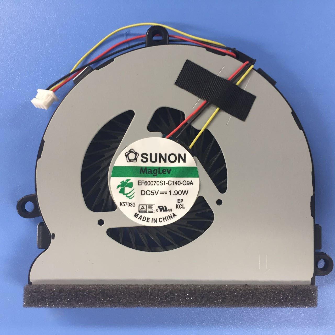 Cooler para DELL Inspiron 15RV 3521 5521 5721 3-Pin