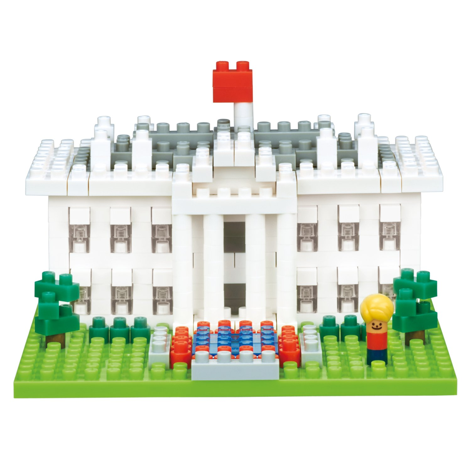 Nanoblock NBH144 White House Toy Multi-Colour Kawada