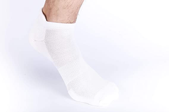 0d5d94a47be3 Heelium Bamboo Men s Ankle Socks for Running Sports   Gym