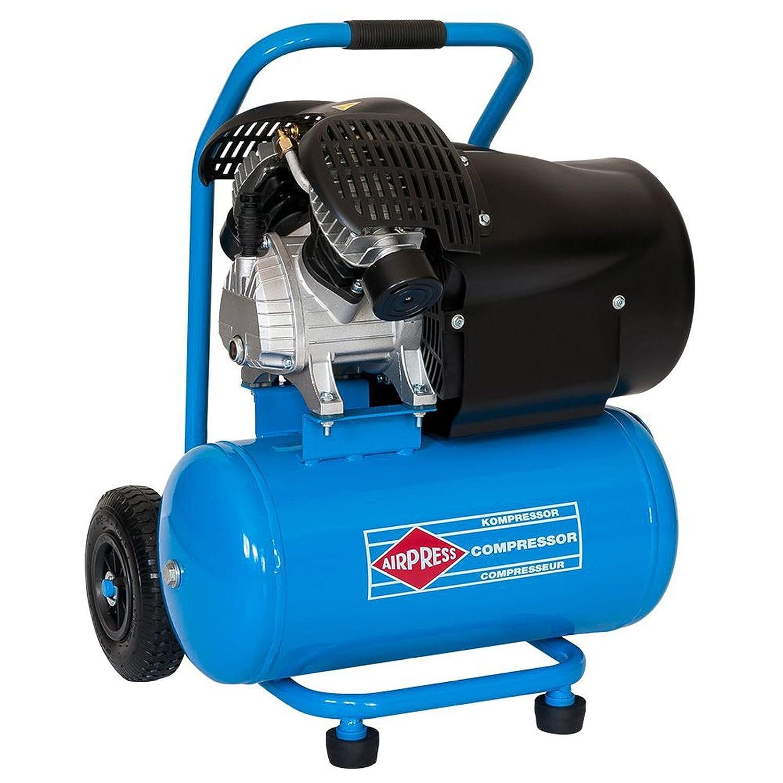 BRSF33 Compresor De Aire De Impresión Móvil 3 PS  max. 8 bares de presión de  24 L de depósito Potencia de aspiración 392 L/min ölgeschmiert: Amazon.es: ...