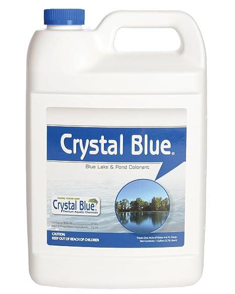 afdf9152fb2 Amazon.com   Crystal Blue Lake and Pond Dye - Royal Blue Color - 1 ...