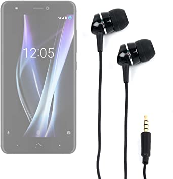 DURAGADGET Auriculares para Smartphone BQ Aquaris X | X Pro ...