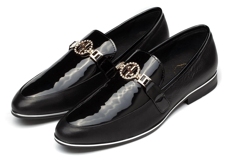 Robelli Para hombre Fashion nuevo piel de color negro Oxford zapatos Formal Smart Reino Unido tamaño 67891011, color Marrón, talla 41 EU